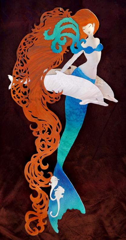 Auburn Mermaid princess