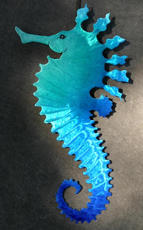 BlueGreen Seahorse