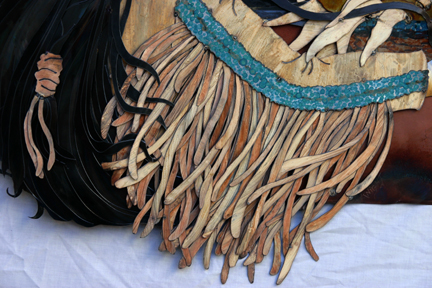Detail of layers & layers of fringe.