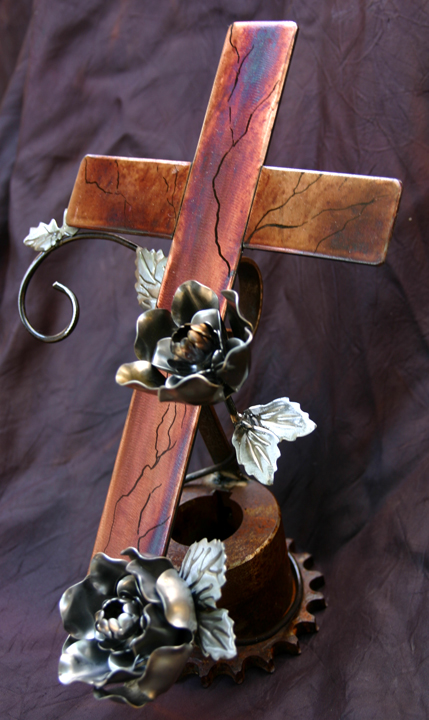 Rose Cross standing 3