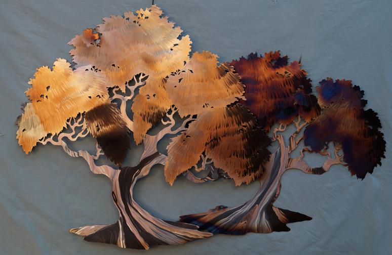 Double Heated trees