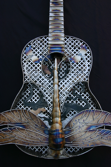 Fancy Dragonfly Guitar
