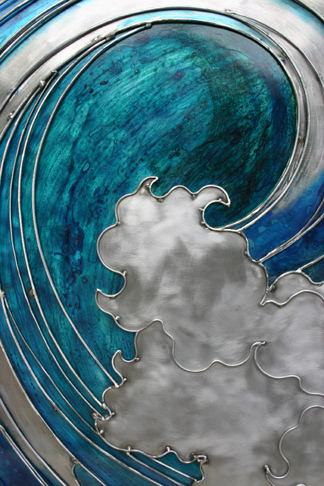 Blue wave  (click on for more pictures)