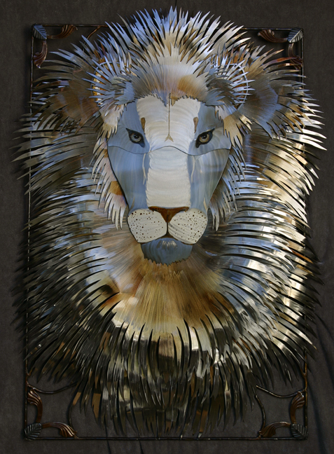 Lion in the mask #2