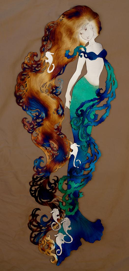 Seahorse princess Mermaid