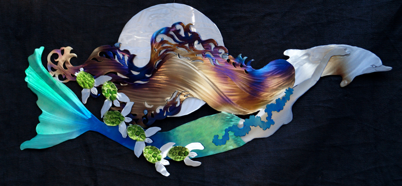Moon Mermaid horizontal