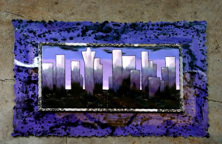 City Scape in Lavender: 36