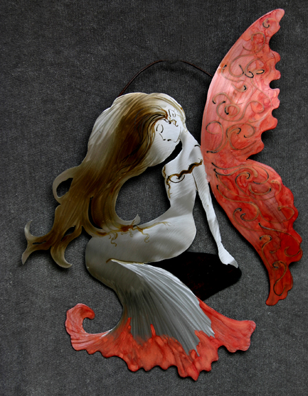 Red winged fairy