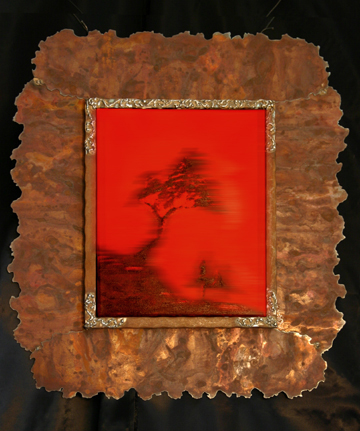 Red Tree and frame: 