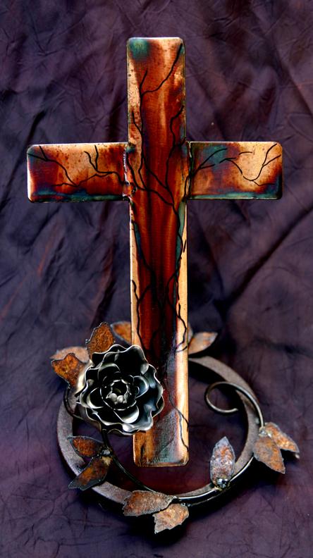 Rose Cross stand 2