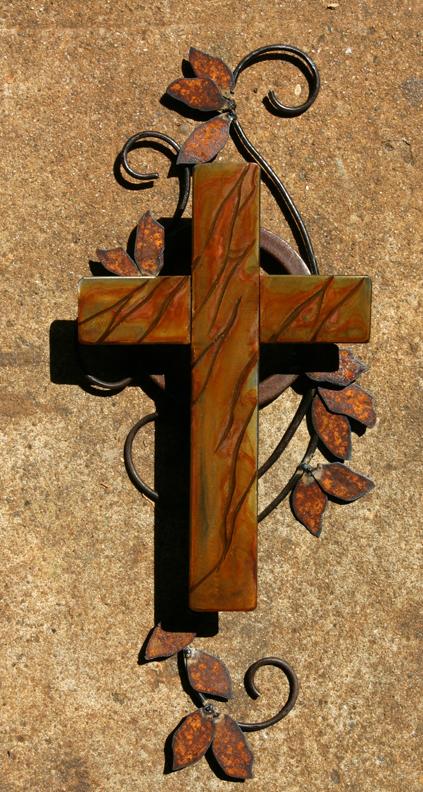 Rusted cross 1