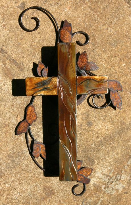 rusted cross 2