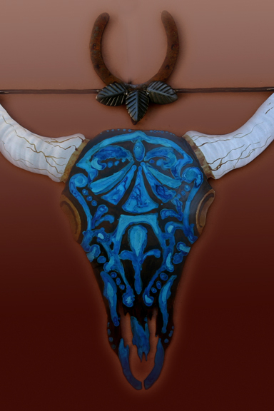 Skull & horseshow Skull & horseshoe 32